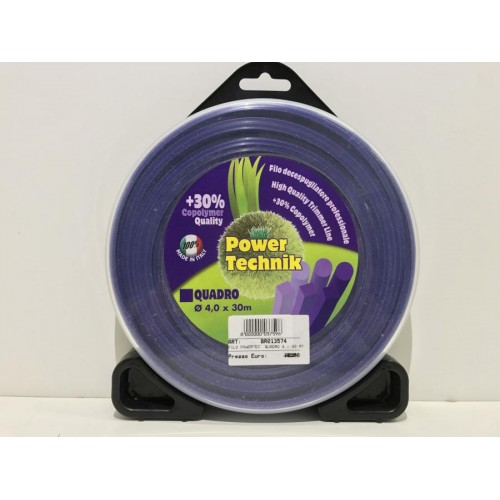 FILO DEC. POWER TECHNIK - VIOLA QUADRO DIAM.: 4 - 30 MT